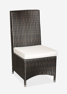 Cossy Side Chair (Prussian Dark-Outdoor) (18.5x28x39.5)