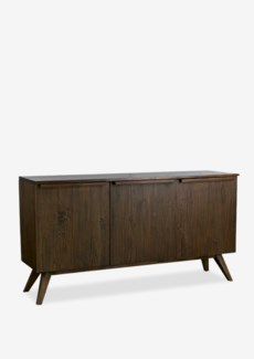 "Gobin 63"" solid teakwood sideboard with 3 doors -- (63X18X33.5)"