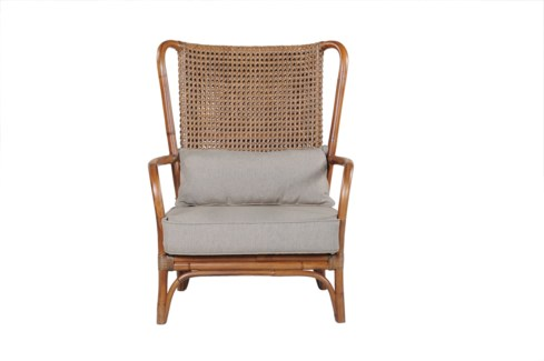 (LS) Sven Club Chair-Fawn Brown Frame Color..(29.5X30X38)....