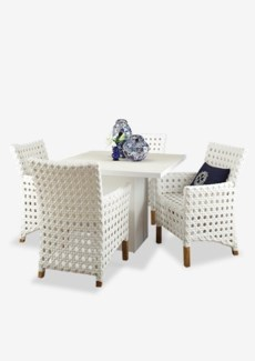 (LS) Watu Dining Table with Four (4) Derby Arm Chairs