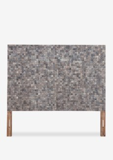 Tahoe Coco Headboard Queen-Fog Grain Color (63x2x60)