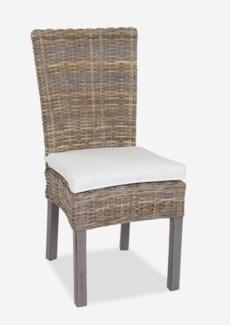Ruti Side Chair W/Cushion (2 pcs/Box) (18.5X23X39)