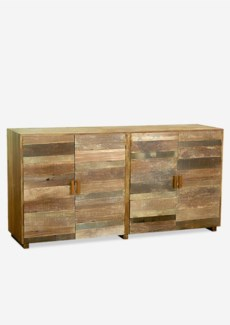 (LS) Sedona Sideboard (4 doors) - recycled teak (79X20X40)