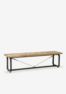 (LS) Trapeze Double Bench (65x18x18.5)