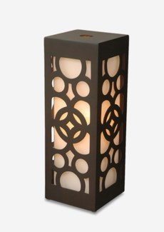 (LS) Sumba Table Lamp with hyget (8.5X8.5X24)