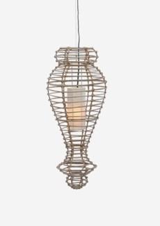 (SP) Orinda Hanging Lamp-M-Kuboo Grey..(13X13X30)..