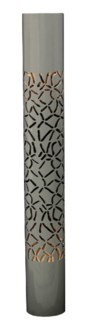 Ralon FLoor Lamp - grey (8.5x8.5x63)