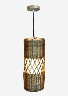 Willow Pendant -1 bulb light (8X8X20)