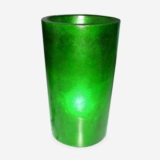 Kania Round Cylinder Planter/Lamp-(18x18x23.5)-GREEN