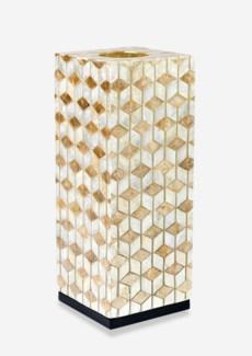 (LS) Stream Capiz Table Lamp-Medium..(8x8x21)....