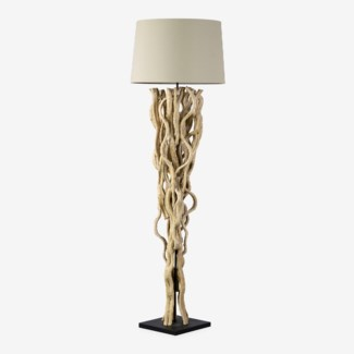 """70""""H Branch Floor Lamp with Round Shade (19x21.6x73)""""2 BOXES PER ITEM"""""""