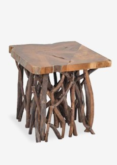 Liberte Square Side Table With Stick Base (22x22x22)