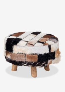 (LS) Patch Work Ottoman-Large