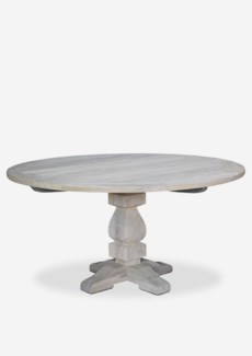 Sunset outdoor Round Dining Table - white