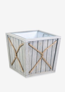 Planter Box with rope accent - Small