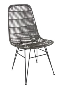Outdoor Open Weave Chair-Minimum quantity 2(20X22X35)