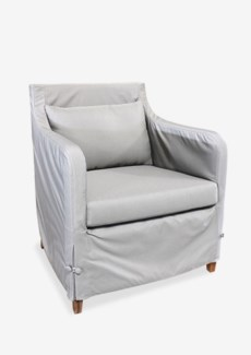 (SP) Sorento outdoor upholstered chair..(28X28.5X30.5)....