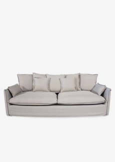 Sorento outdoor upholstered sofa(88.5X38X29.5)