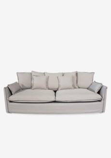 Sorento outdoor upholstered sofa(88.5X38X29.5)