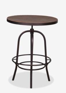 """Gabriel 31"""" Bistro Table Wrapped with Iron Basemetal Base (31x37x45/31)"""