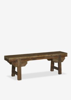 "47"" Primitive Recycled Boatwood Bench(47x10x16)"