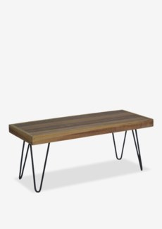 Sedona  Bench With Iron Leg (K/D) (39x16x18)