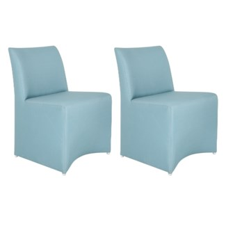 Outdoor Upholstered Chair - Blue Color