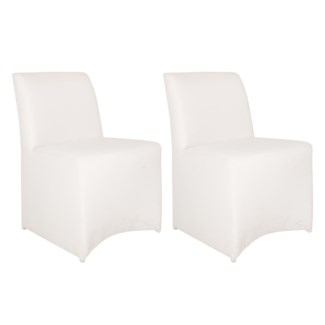 Outdoor Upholstered Chair - White Color(22X25X33)
