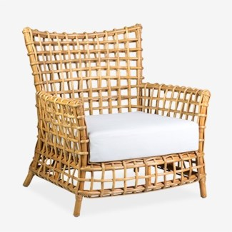 Bahama Occassional arm chair - Natural