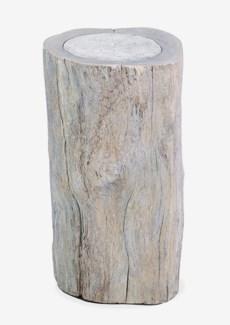 Hillside Organic wood side - grey stone