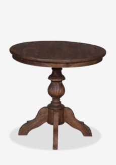 """Avery 31"""" Bistro Table with Turned Pedestal Base and Recycled Wood Top - K/D(31.5X31.5X30)"""