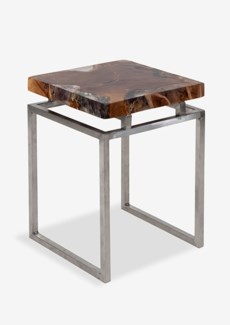 Uptown Icy Side Table Small