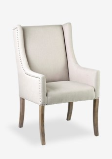 Poppy Upholstered Arm Chair (29.5x24x42)