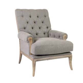 Branson Upholstered Arm Chair (35.4x31.5x37.4)