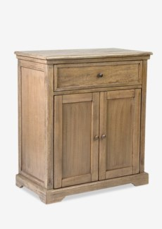 Naomi Cabinet with 2 Doors and 1 Drawers-Grey  (29.5X16X33.5)