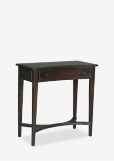 "32"" Curved Console Table with 1 Drawer and 1 Shelf (32x16x33)"