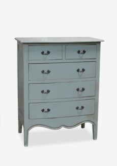 Remington Tall Dresser with 5 Drawers(33.5x19x42)