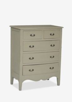 Remington Tall Dresser with 5 Drawers (33.5x19x42)