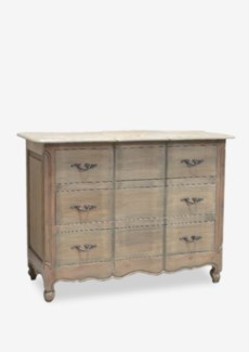 Emma 3-Drawer Dresser with Guilded Handles (47x22x35)