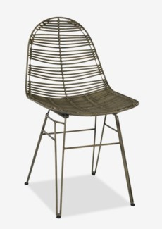 Clay Side Chair-Grey (20x22x35)