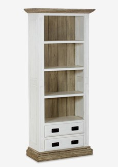 Chauncey Bookcase with Reclaimed Fir Accents (35x16x79)