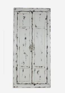 (SP) Chauncey Rustic Vintage Rectangular Floor Mirror (34X42X72)..