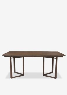 "(SP) Calvin 71"" solid teakwood dining table..Solid teakwood...(71X35X30).."