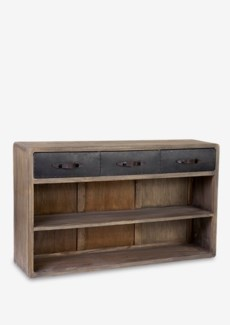 Ellington Console Table with 3 Drawers and 2 Shelves