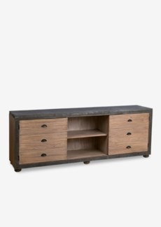 "(LS)  Ellington TV Media Cabinet with 2 doors and 1 shelf-Widht 70""  (70x16x26)"