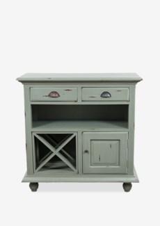 (LS) Fleming wine cabinet  (34X15X34)