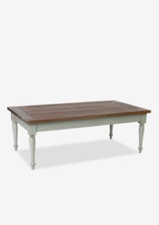 (LS) Hutton Coffee Table-Natural Wash and Grey Wash Leg..(53x29.5x19)
