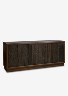 Forest 3 door cabinet with reclaimed teakwood panels(70X18X31)