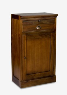 Napa Wine Cabinet Base W/Door and Drawers (21x14x38)