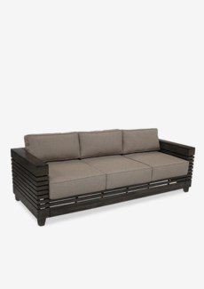 (SP) Lincoln solid teakwood sofa ..(81.5X32X24)....